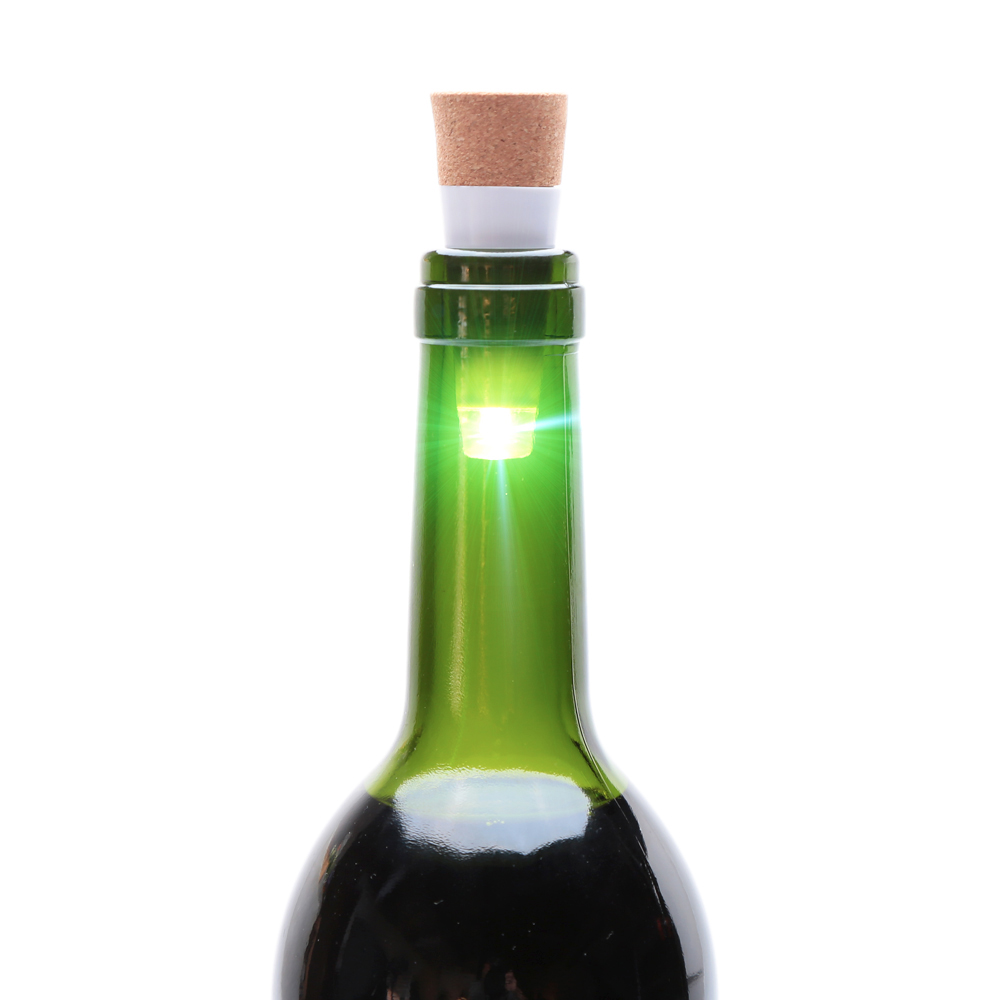 USB Powered Rechargeable Cork Light Wine Bottle